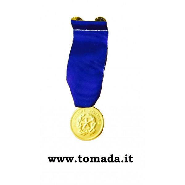 medaglia oro valor militare