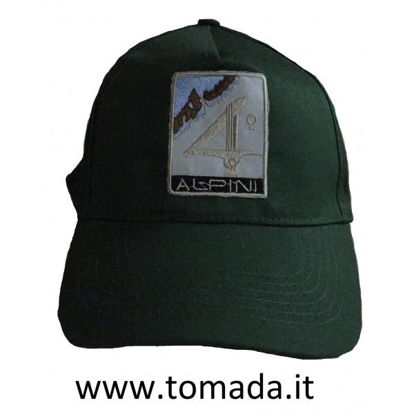 cappellino 4° corpo d'armata alpini