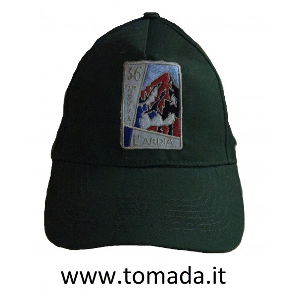 cappellino alpini 36 cp susa l'ardia