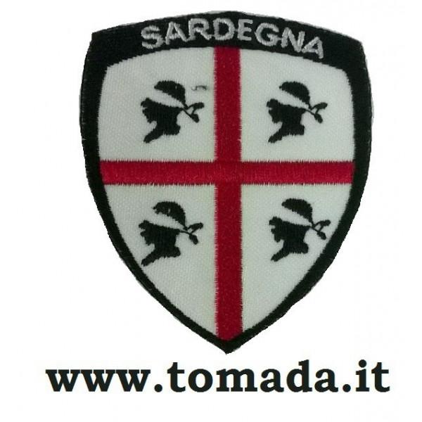 scudetto patch sardegna 4 mori