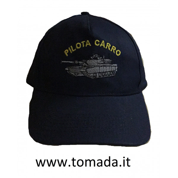 cappellino pilota carro