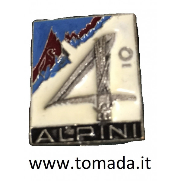 distintivo alpini 4 reggimento