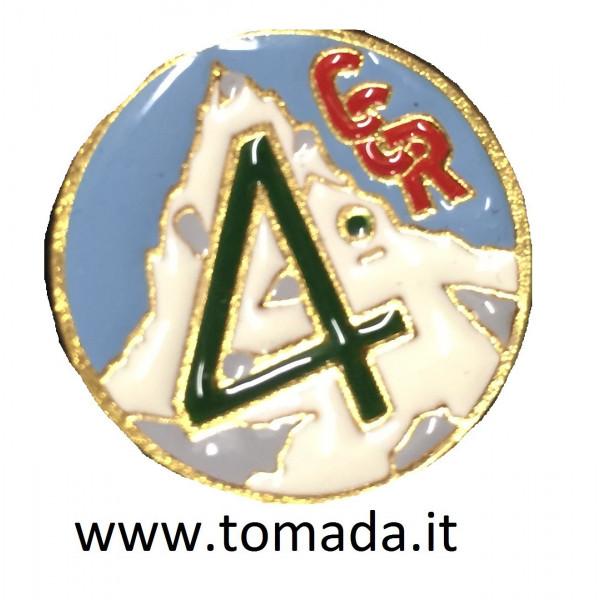 distintivo Cp Comandodo rgt.le 4 Alpini