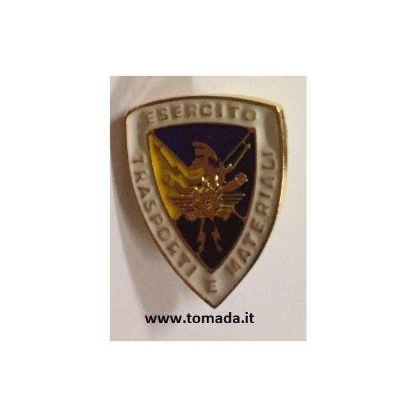 distintivo spilla esercito trasporti e materiali
