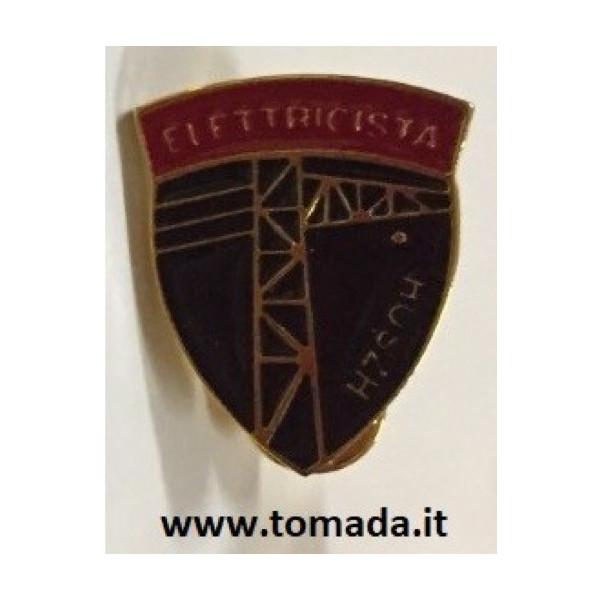 distintivo spilla elettricista esercito