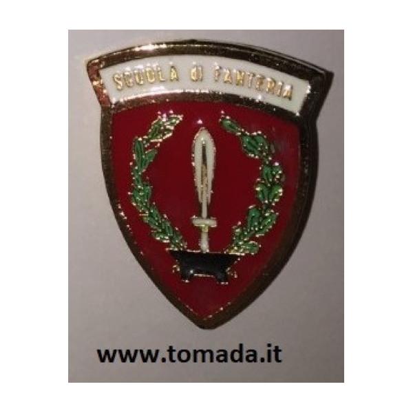 distintivo spilla scuola di fanteria esercito