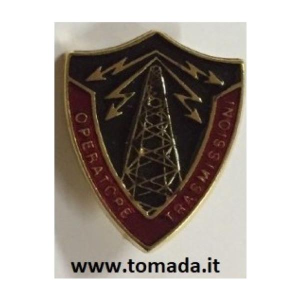 distintivo spilla operatore trasmissioni esercito