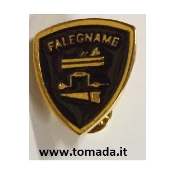 distintivo spilla falegname esercito