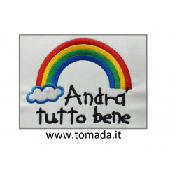 "Patch ""ANDRA' TUTTO BENE"""