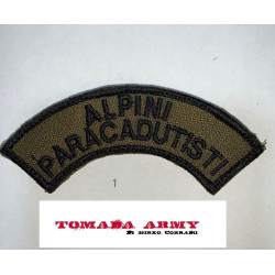 patch alpini paracadutisti