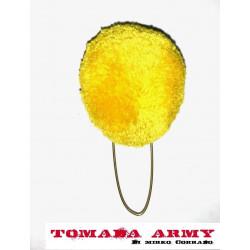 nappina gialla per cappello...