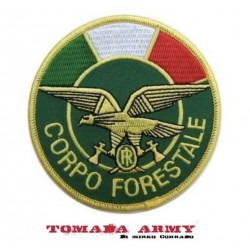 patch toppa corpo forestale