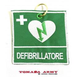 cartellino DAE defibrillatore