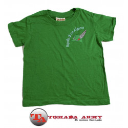 T-shirt nipote di un alpino