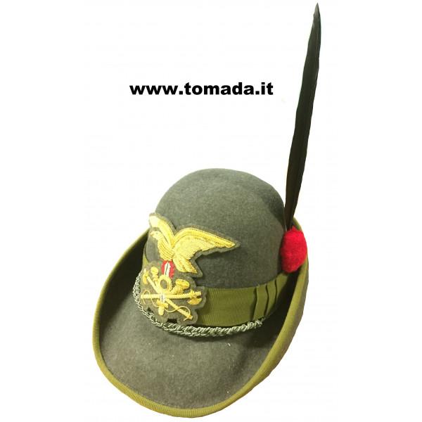 cappello alpino ufficiale e sottuficiale genio guastatori 90e53d54bca7